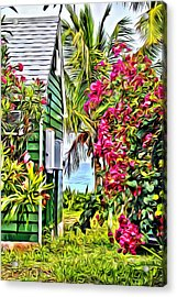 Guana Home Acrylic Print by Anthony C Chen