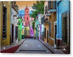 Guanajuato Backstreet Acrylic Print