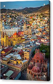 Guanajuato From Above Acrylic Print
