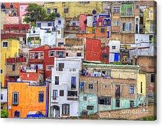 Guanajuato Jumble Acrylic Print