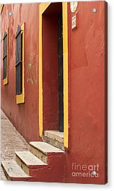 Guanajuato Mexico Colorful Building Acrylic Print by Juli Scalzi