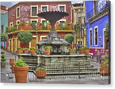 Guanajuato Mexico Acrylic Print by Juli Scalzi