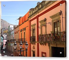 Acrylic Print featuring the photograph Guanajuato by Mary-Lee Sanders