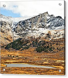 Guanella Pass Colorado Acrylic Print by Beth Riser