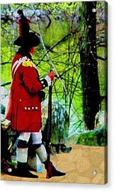Guard Duty Acrylic Print