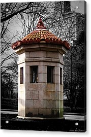 Guardhouse In Prospect Park Brooklyn Ny Acrylic Print
