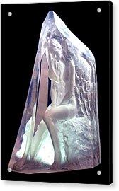 Guardian Angel Acrylic Print by Leonardo Pereznieto