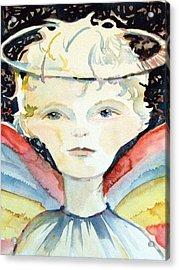 Guardian Angel Acrylic Print by Mindy Newman