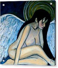 Guardian Angel Acrylic Print by Monica Furlow