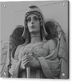 Guardian Angel On Watch Acrylic Print