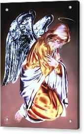 Guardian Angel Acrylic Print by Pennie  McCracken