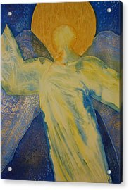 Guardian Angel Ps 91 11 Acrylic Print