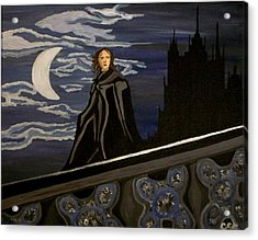 Acrylic Print featuring the painting Guardian by Carolyn Cable