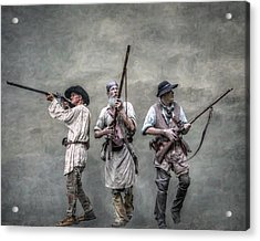 Guardians Of The Frontier Acrylic Print by Randy Steele