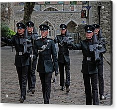 Guards Acrylic Print
