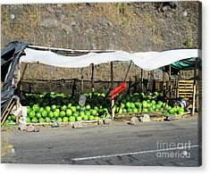 Guatemala Stand 2 Acrylic Print by Randall Weidner