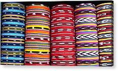 Guatemalan Textiles 2 Acrylic Print