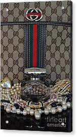 Gucci Bamboo 6 Acrylic Print by To-Tam Gerwe