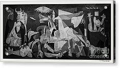 F 38 Guernica Photo  Acrylic Print by Norberto Torriente