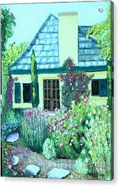 Guest Cottage Acrylic Print