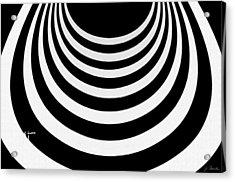 Guggenheim Plus Plus No. 1 Acrylic Print by Joe Bonita