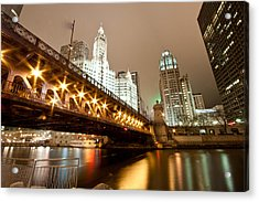 Guide Me Across The River Acrylic Print by Daniel Chen