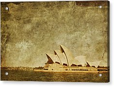 Guided Tour Acrylic Print by Andrew Paranavitana