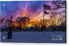 Guilford, Connecticut. Acrylic Print