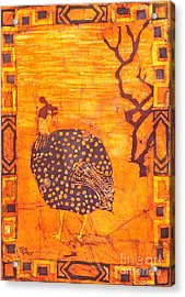 Guinea Fowl Acrylic Print