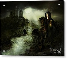 Guinevere Acrylic Print by Shanina Conway