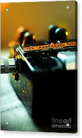 Guitar Pedal Acrylic Print