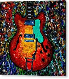 Guitar Scene Acrylic Print