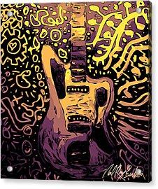 Guitar Slinger Acrylic Print