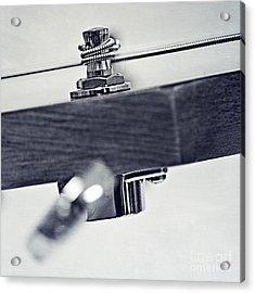 guitar V Acrylic Print by Priska Wettstein