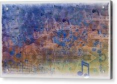 Guitargasm Acrylic Print by Bill Cannon