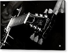 Guitarist Acrylic Print by Stelios Kleanthous