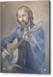 Guitarist  Acrylic Print