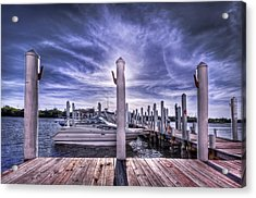 Gulf Coast Blues Acrylic Print