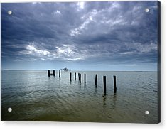 Gulf Coast Acrylic Print by Eric Foltz