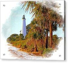 Gulf Coast Lighthouse 1 Acrylic Print