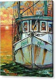 Gulf Coast Shrimper Acrylic Print