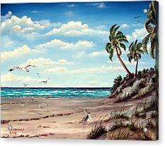 Gulf Dunes Acrylic Print