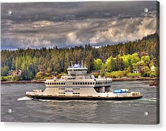 Gulf Islands 7 Acrylic Print by Lawrence Christopher