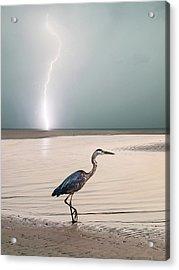 Gulf Port Storm Acrylic Print