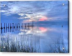 Gulf Reflections Acrylic Print