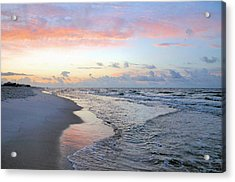 Gulf Shore Acrylic Print