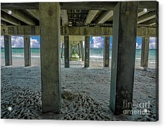 Gulf Shores Park And Pier Al 1649 Acrylic Print