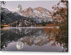 Gull Lake Just Before Sunrise Acrylic Print