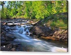 Gull River Falls - Gunflint Trail Minnesota Acrylic Print