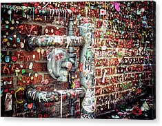 Acrylic Print featuring the photograph Gum Drop Alley by Spencer McDonald